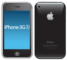 Apple iPhone 3GS that needs a new screen
