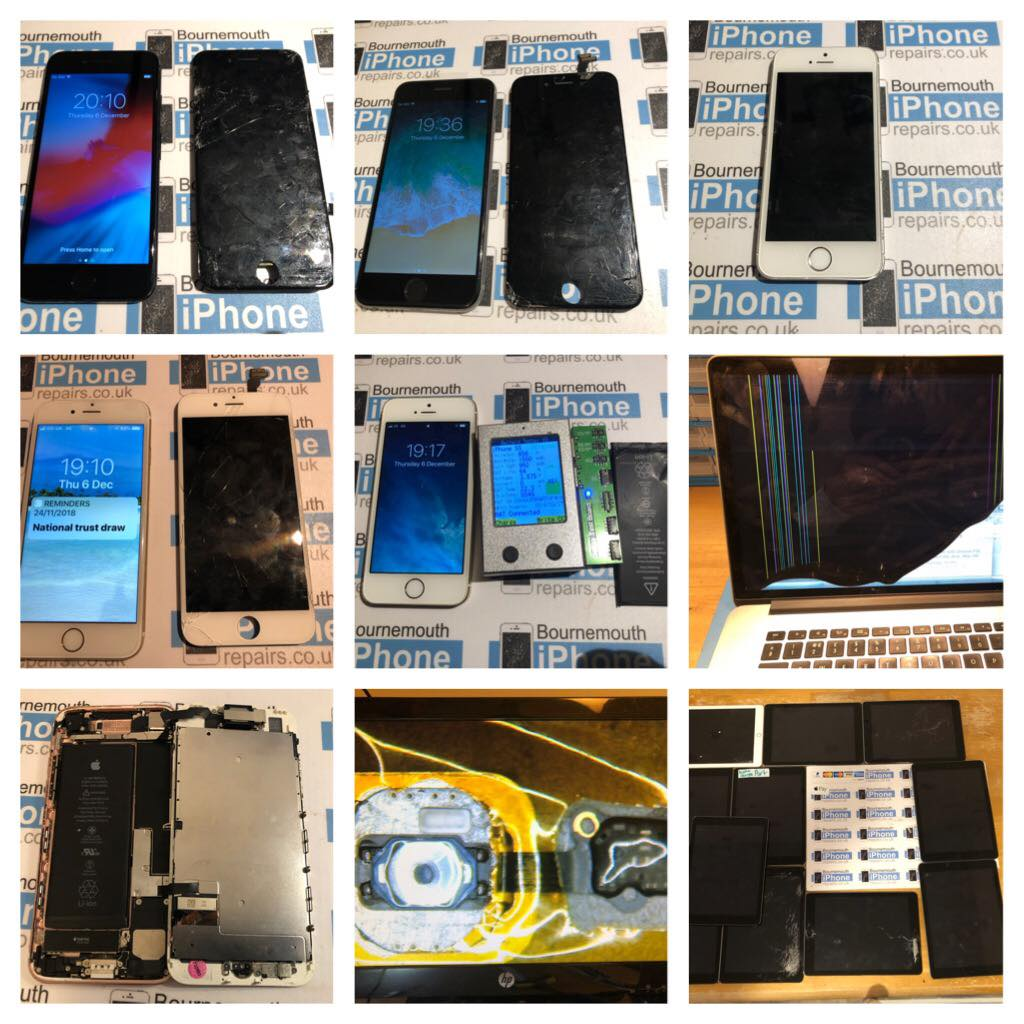 Bournemouth iPhone Repairs | Screen Repairs and Battery replacements