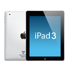 Apple iPad 3, WIFI / GSM, screen repair, headphone repair