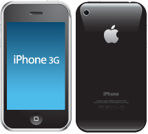 Apple iPhone 3G that needs a new headphone socket
